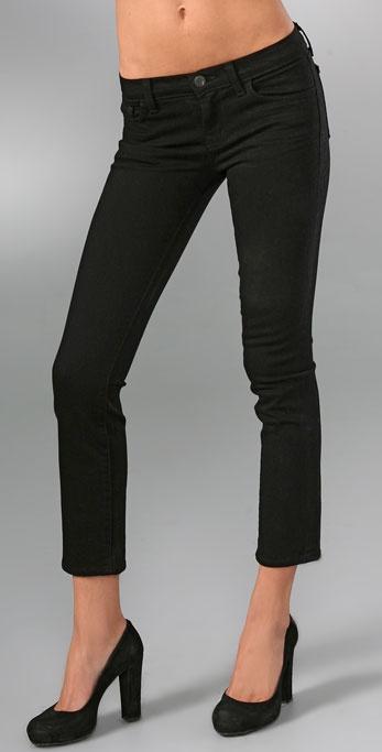 J Brand 7/8th Cropped Pencil Leg Jeans