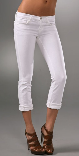 J Brand Cropped Skinny Jeans