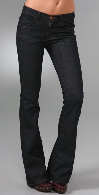 J Brand High Rise Boot Cut Jeans