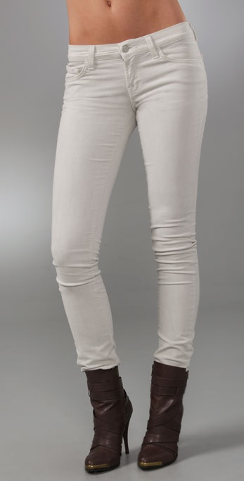J Brand Corduroy Pencil Leg Pants