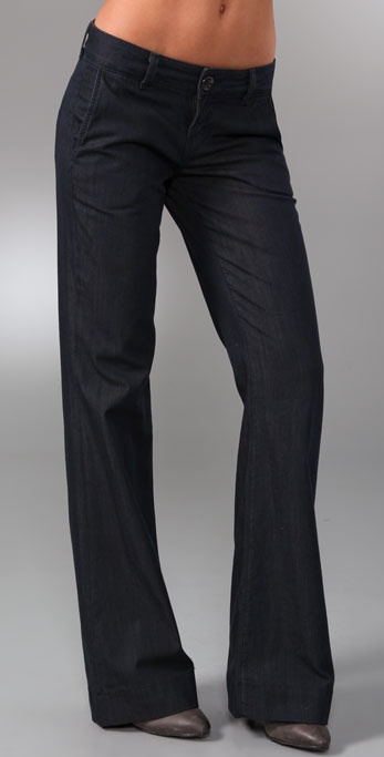 J Brand Bell Bottom Trouser Jeans
