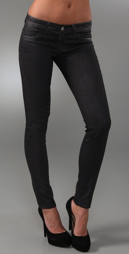 J Brand Shiny Legging Jeans