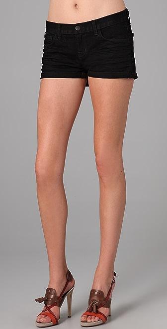 J Brand Rolled Denim Shorts
