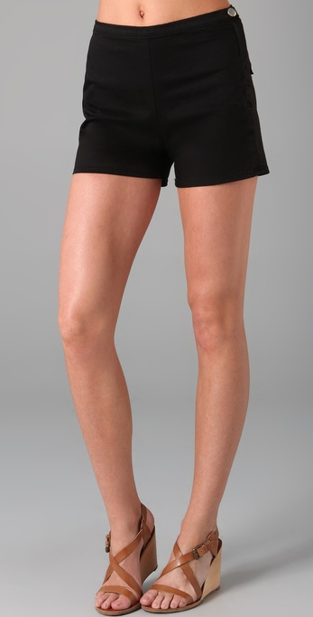 J Brand Perry Sateen Shorts