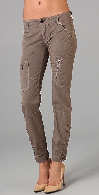 J Brand Ella Mae Skinny Aviator Pants