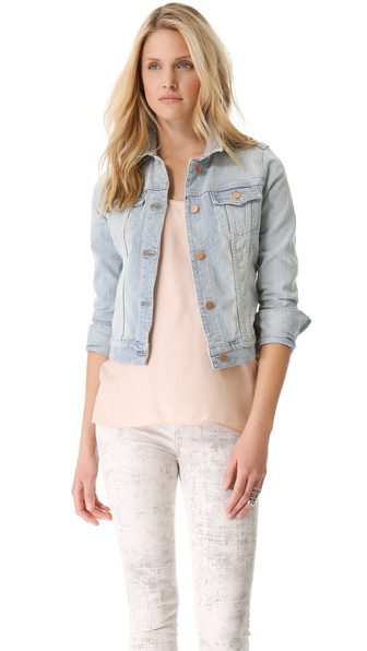 J Brand Slim Fitted Denim Jacket