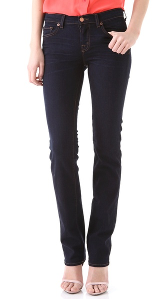 J Brand 814 Mid Rise Cigarette Jeans
