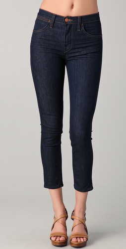 J Brand Kori High Rise Capri Jeans
