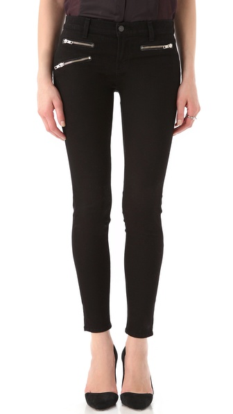 J Brand Zoey Triple Zip Skinny Jeans
