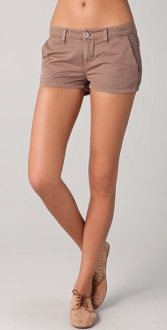 J Brand Callie Low Rise Postal Shorts