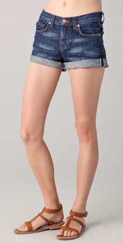 J Brand Rolled Cutoff Shorts