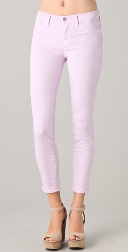 J Brand Mid Rise Skinny Jeans