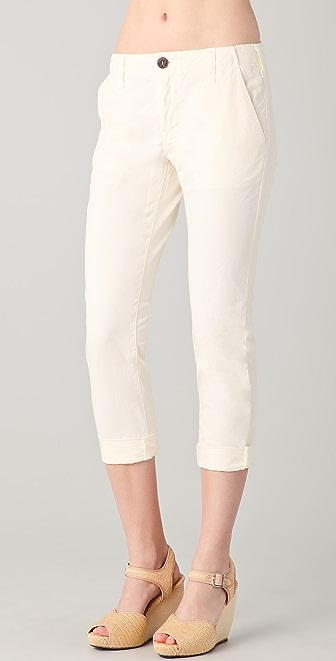 J Brand Inez Cropped Chino Trousers