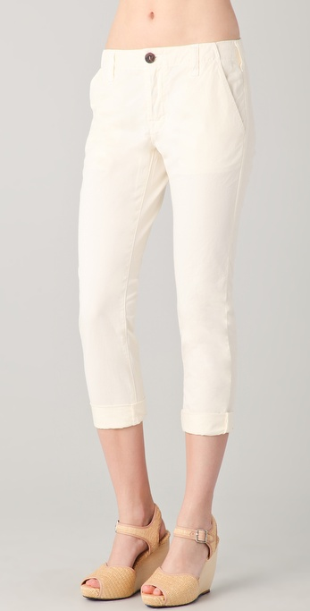 J Brand Inez Cropped Chino Trousers