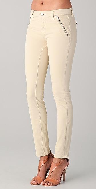 J Brand Nikko Skinny Zip Jeans