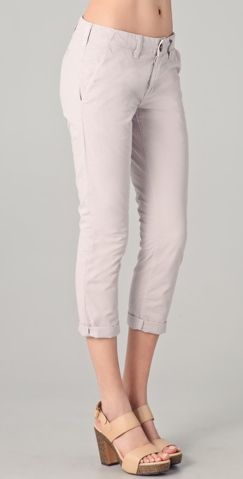 J Brand Inez Slim Cropped Trousers