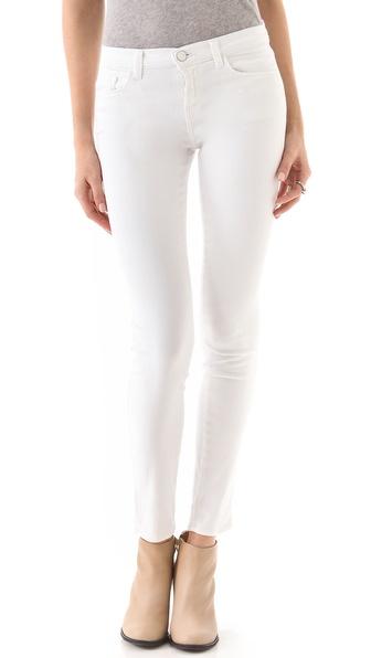 J Brand 811 Mid Rise Skinny Jeans