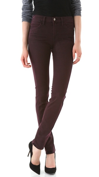 J Brand Sasha Blackened Jeans