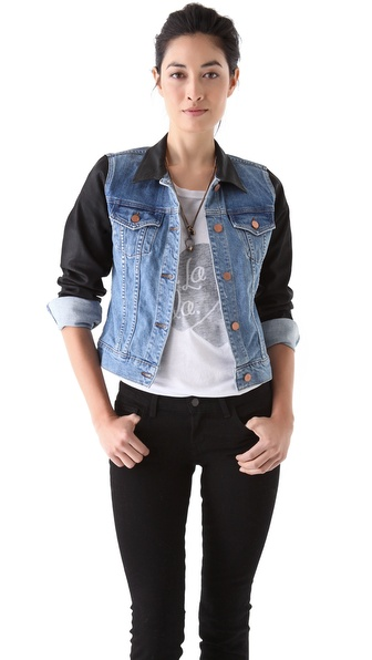 J Brand Slim Denim Jacket