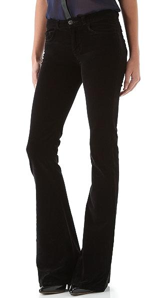 J Brand Martini Velvet Pants