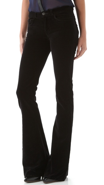 J Brand Martini Velvet Pants