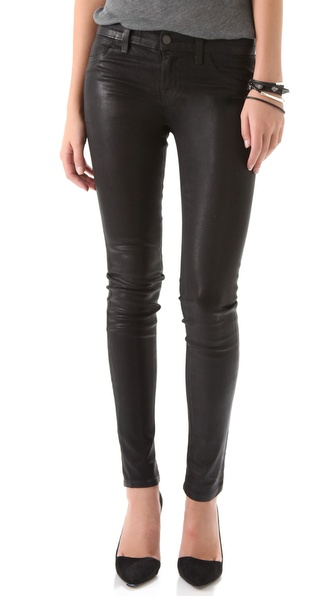 J Brand 915 Waxed Legging Jeans