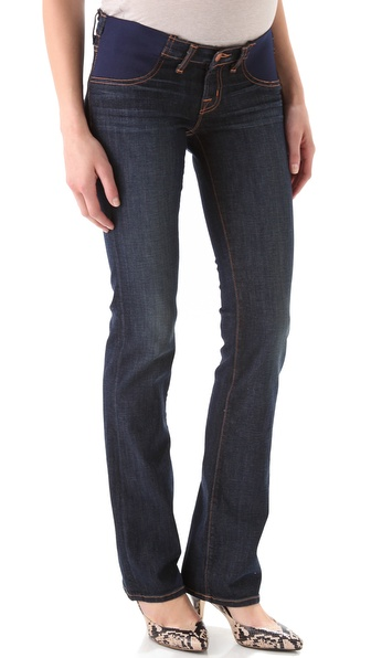 J Brand Straight Leg Maternity Jeans