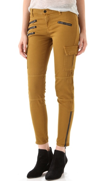 J Brand Brix Skinny Zip Cargo Pants
