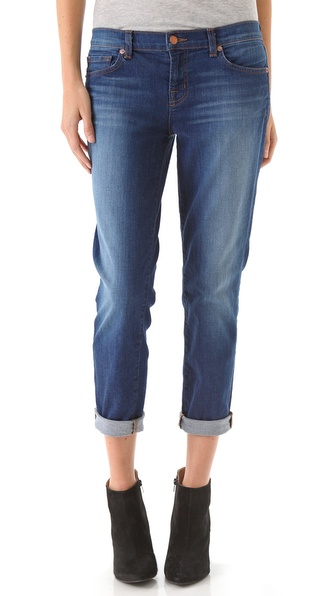 J Brand Aoki Slim Boyfriend Jeans