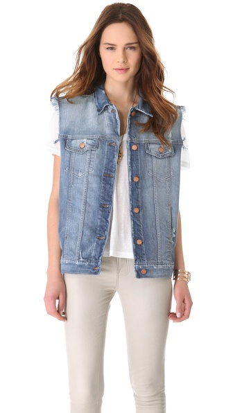 J Brand Tommy Oversized Boyfriend Vest