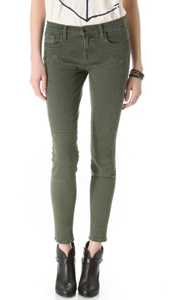 J Brand Roz Moto Skinny Jeans