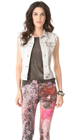J Brand Bleached Out Vest