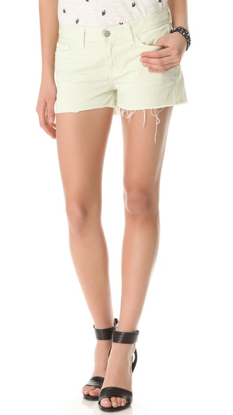 J Brand 1046 Low Rise Cutoff Shorts