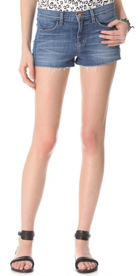 J Brand Chrissy Patchwork Shorts