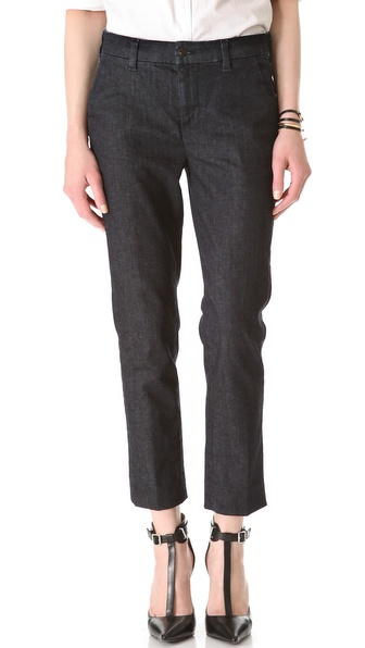 J Brand 8412 High Rise Clean Crop Trouser