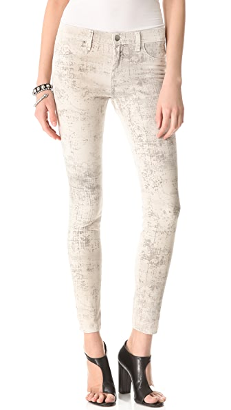 J Brand 801 Coated Legging Jeans
