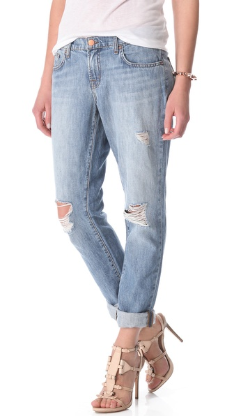 J Brand Aidan Slouchy Boyfriend Jeans