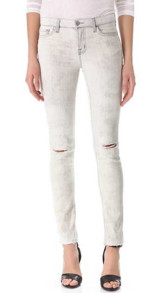 J Brand 8112 Mid Rise Rail Jeans