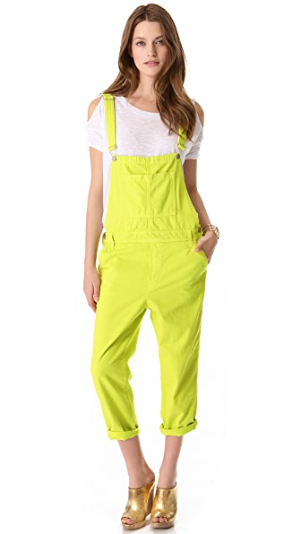 J Brand Relaxed Slouchy Overalls
