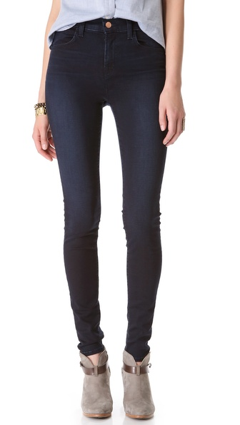 J Brand Maria High Rise Skinny Jeans - Atmosphere