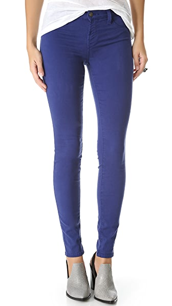 J Brand 485 Super Skinny Luxe Sateen Jeans