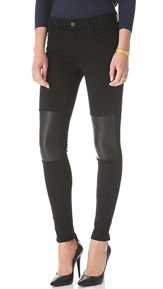 J Brand Nicola Powerstretch Moto Jeans
