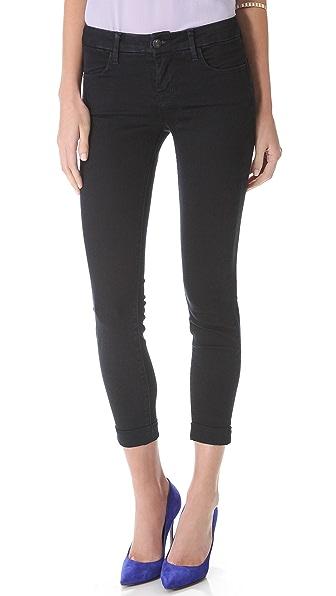 J Brand Anja Cuffed Ankle Jeans
