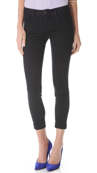 J Brand Anja Cuffed Ankle Jeans