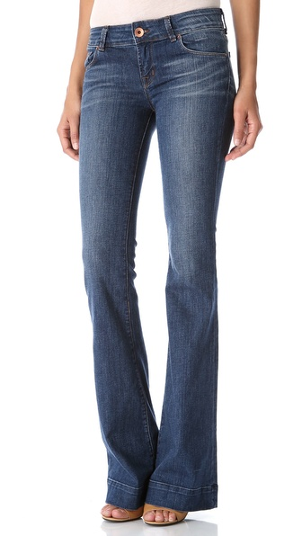 J Brand Low Rise Lovestory Flare Jeans
