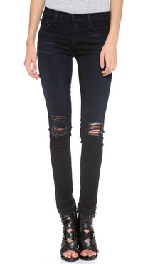J Brand 811 Photo Ready Destructed Skinny Jeans