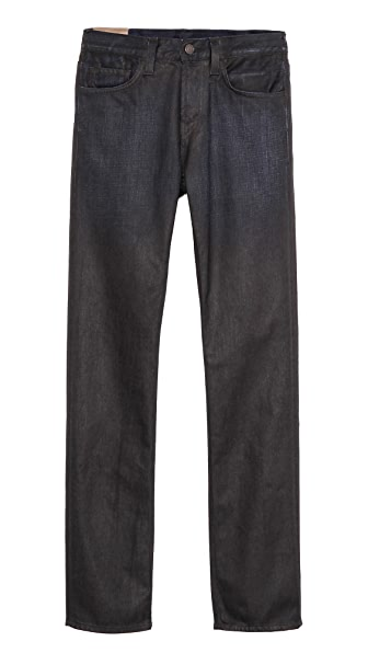 J Brand Kane Turmoil Coated Slim Straight Jeans