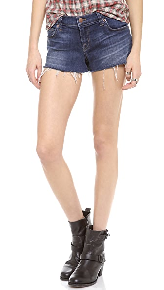 J Brand 1046 Low Rise Cut Off Shorts
