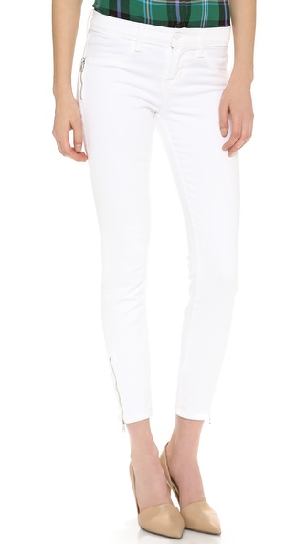 J Brand 8040 Tali Zip Jeans