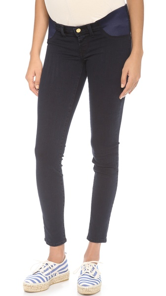 J Brand Mama J Super Skinny Maternity Jeans - Blue Bird at Shopbop